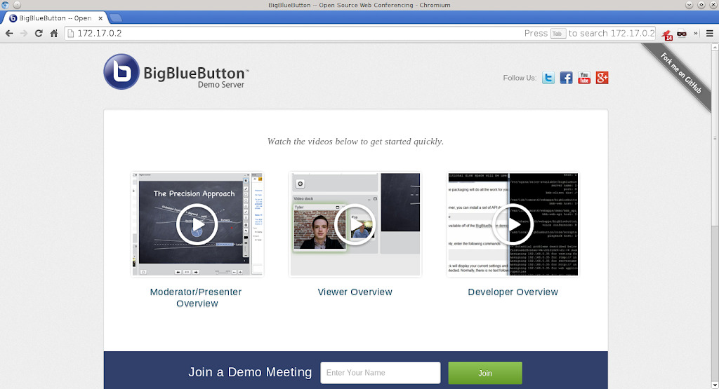 Setting up a BigBlueButton 0.81 docker container: Part 1